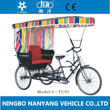 TC93 pedicab rickshaw for passenger