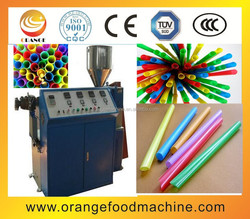 High speed drink straw extruder/drinking straw production machine