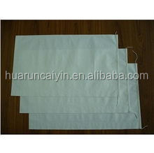 plain polypropylene woven bags used for flour packaging