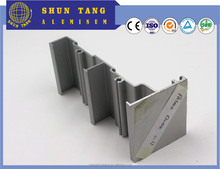 High quality standard aluminum extrusion profiles and aluminium profiles for beautiful thermal break glass window