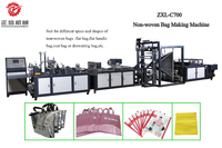 China Stereo non-woven non woven box bag making machine