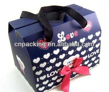 handmade wholesale popular paper bags with bowknot