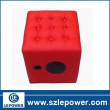 The new design for sofa with bluetooth speaker feature,nini PU material sofa,enjoy and relax combine sofa!