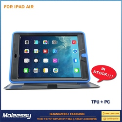 Cool silicon combo case for ipad air