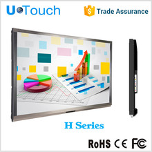 """Large screen 84\"""" Cheap multitouch led touch screen all in one pc lcd monitor for library education"""