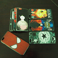 Best Seller High Quality 3d Sublimation UV Painting Phone Case For Iphone 6 cover