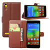Fancy customized color phone flip case for lenovo k3 A6000