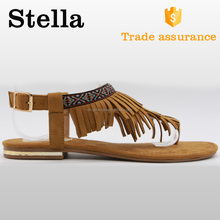 slip on blackless high quality heel sandal golden