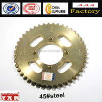 China supplier,motorcycle parts, motorcycle rear sprocket for 428