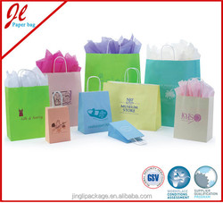 Factory Direct Large Paper Shopping Bags