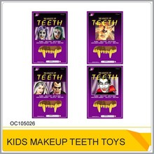 Promotional plastic teeth makeup toy for Halloween OC105026
