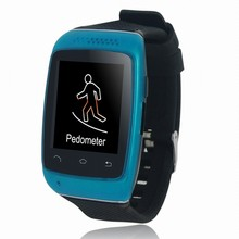 The Newest Fashion!!! / Dial / Alarm / Music Player / Pedometer Smart Watch, with Anti-lost ,Bluetooth and LED Display
