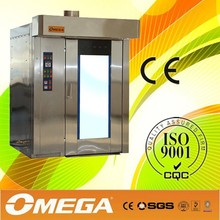 Rotary diesel/gas/electric convection oven,hot air rotary oven,bakery oven(CE Approved ,Manufacturer)