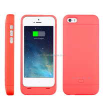 Jacket Type MFI Lithium Polymer Battery Charger Case for IPhone5/ 5S/ 5C