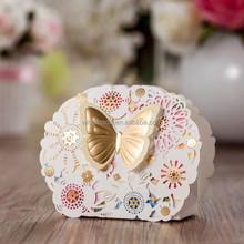 Laser Cut Favor Box/wedding candy box /gift box CB5069,match invitation card CW5069
