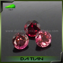 Thailand natural gems of 4mm round Ruby for rings