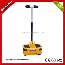 Newest type ES03 CE/RoHS/FCC approved chariot stand up gas scooters with 2 front small wheels motorcycle