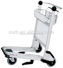 Rh-j02-2 250 kgs capacidad 180 dia. Ruedas 950*670*1050mm aeropuerto el equipaje de la carretilla con el aeropuerto de