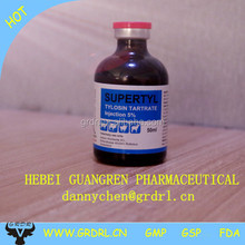 veterinary antibiotics Tylosin Tartrate injection for animals only