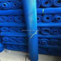Green color pvc coated metal mesh/pvc coated expanded metal mesh size 3mmx4mm 10kg/roll