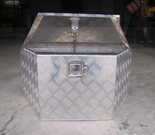 Aluminum truck tool box, aluminum checkered plate tool box in high quality