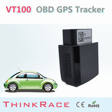 Mini vehicle gps tracker VT100 withBuild-in backup battery OBD/OBD2 of Thinkrace