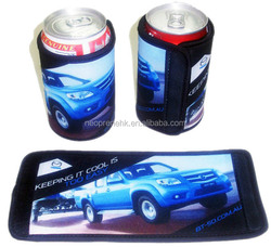 Lastest Design Neoprene Wrapped Can Cooler/Can Holder/Stubby Holder with Velcro,