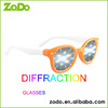 diffraction grating 3d fireworks glasses with more colors frame available