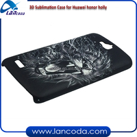 White polymer 3D Sublimation blank Case mobile Phone Cover for Huawei Honor Holly A3 A4 Size 3D Sublimation Vacuum Machine Film