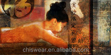 Naked beautiful chinese girl nude painting