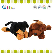 The most satisfying plush toys product,Two black brown dog