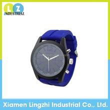 Geneva Unisex Mens Womens Dark Blue Silicone Band Quartz Wrist Watch Jelly Watches