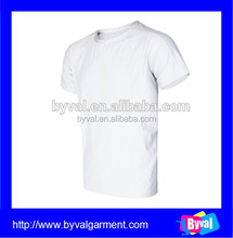 2015 wholesale custom printing dry fit men's tshirt with elastane from china manufacturer