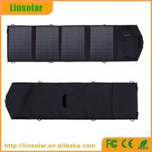 Wholesale 14W 18V Solar Panel Bag charging mobile phones flexible portable solar panel