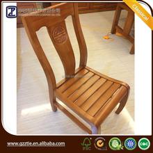 كرسي خشبي الأثاث الخشب الصلب الطعام كرسي خشبي منحوت اليد