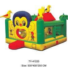 2015 Best Sale Crazy Fun Jumping Castle,Indoor Or Outdoor Commercial Grade Bouncy Castle,0.55mm Pvc Inflatable Bouncer For Sale
