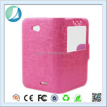 China alibaba smart leather cellphone covers case for blu D590i
