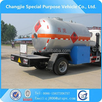 LPG TRACTOR TRUCKS DONGFENG 4*2, LPG GAS TRACTOR TRUCKS FOR SALE