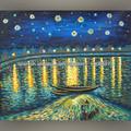 el arte de replicación de van gogh de arte abstracto pintura sobre lienzo