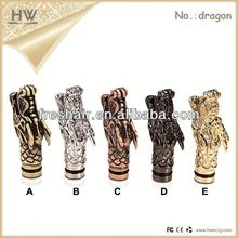 hongwei 2014 the best price rebuildable atom with drip tips together