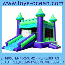 inflatable jumping castle combo jumper game moonwalk with slide