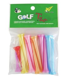 High quality plastic wooden golf tee