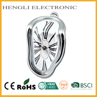 Plastic hot office table decoration time clock