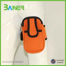 Promotional Outdoor running neoprene sport armband jogging case