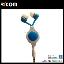 retractable earphone made in china,earphone for iphone 6,wholesale earphone--Shenzhen Ricom