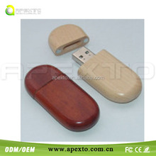 Factory custom wooden usb flash drive promotional gifts(Customized gifts)