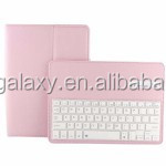 Bluetooth Keyboard Smart Cover Leather Case with Sleep Function for iPad Air 2