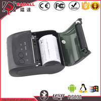 Trade Assurance 5802LD 58mm thermal printer android usb smartphon pccomputer mini bluetooth printer