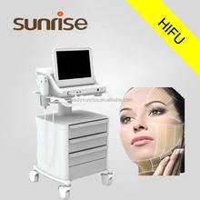 Beijing SUNRISE Manufacturer hifu machine for sale, hifu wrinkle removal, hifu machine portable available