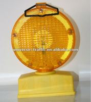 Solar Safety Road Yellow Traffic Light